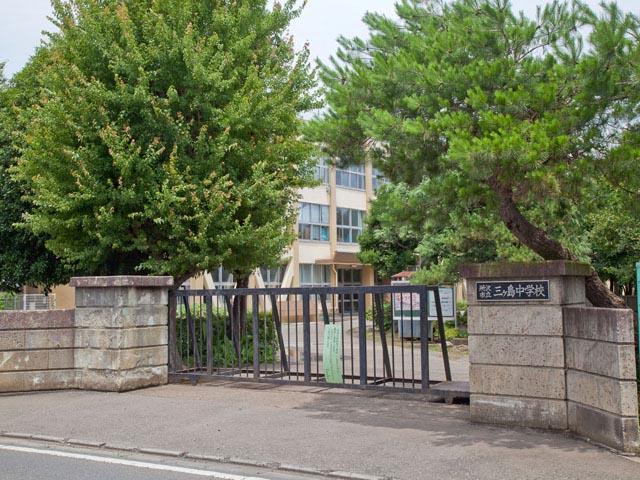 市立三ヶ島中学校まで、約1218m