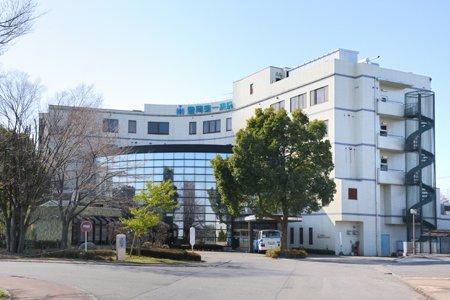 豊岡第一病院まで、約613m
