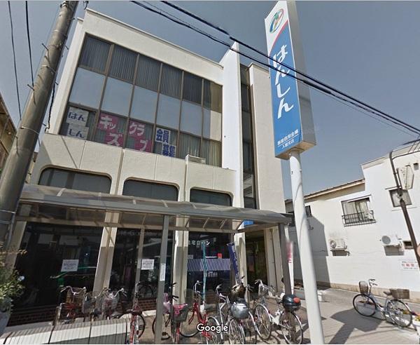 飯能信用金庫 入曽店まで、約1580m