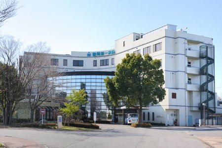 豊岡第一病院まで、約1039m