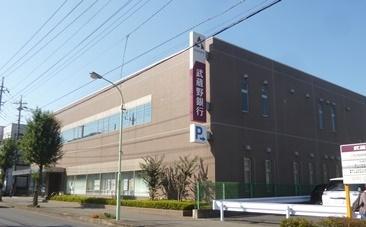 武蔵野銀行 狭山支店まで、約1119m