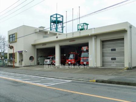 狭山消防署広瀬分署まで、約2099m