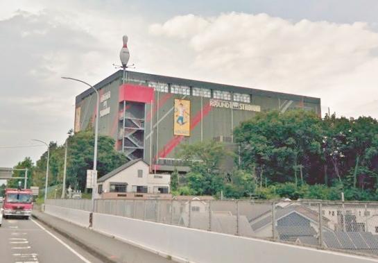 ラウンドワンスタジアム 入間店まで、約5552m