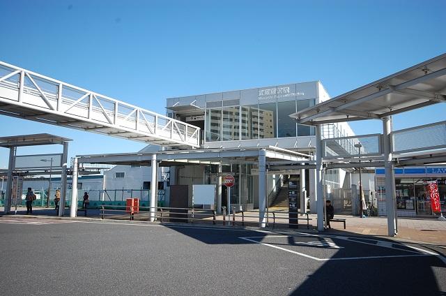 西武池袋線武蔵藤沢駅まで、約695m
