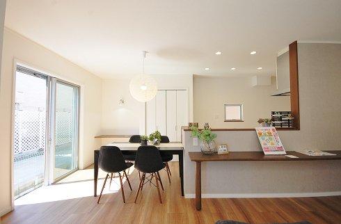 SAN+スタンダード28.5坪、同仕様施工例、参考建物価格1550万円