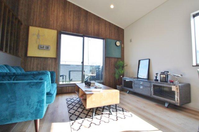 SAN+特別仕様スキップフロアのあるお家。建坪29坪、同仕様施工例、参考建物価格1900万円