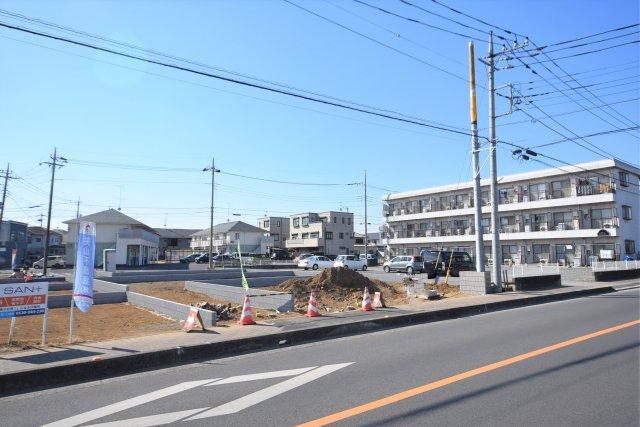 武蔵藤沢駅前区画整理の換地エリア 駅前環境がある道路もゆとりで平坦地 ブリエガーデン下藤沢4丁目第1 8区画