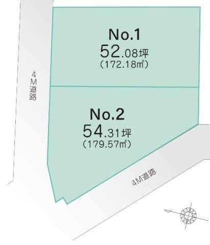 ブリエガーデン祇園 条件付き売地 1号区画