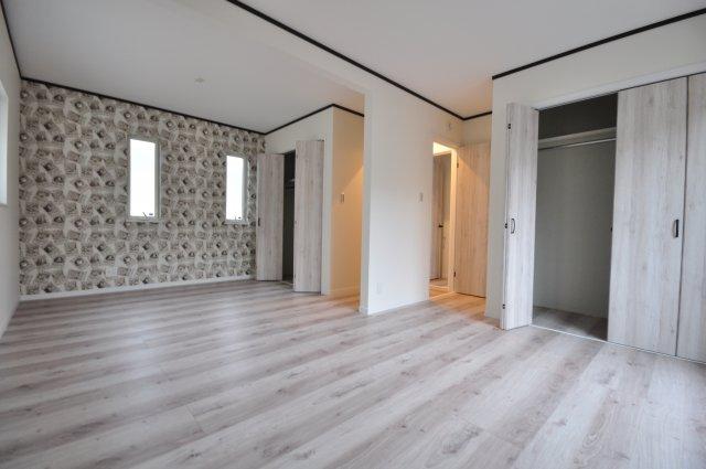 【建物プラン例】アメリカンハウス仕様、スキップフロアー、建物価格1700万円、建物面積96.05㎡