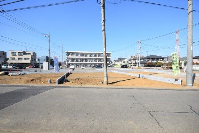 武蔵藤沢駅前区画整理の換地エリア 駅前環境がある道路もゆとりで平坦地 ブリエガーデン下藤沢4丁目第1 3区画