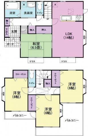 入間市下藤沢4丁目 中古住宅