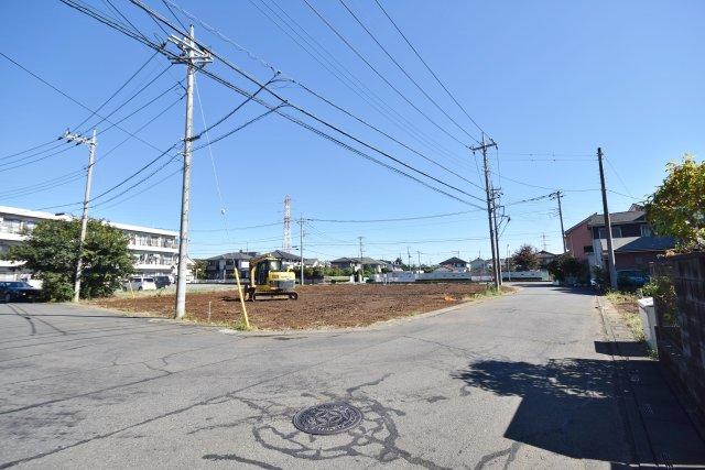 武蔵藤沢駅前区画整理の換地エリア 駅前環境がある道路もゆとりで平坦地 ブリエガーデン下藤沢4丁目第1 4区画