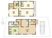 ◆カエルの家 第1目垣・2号棟・新築戸建て◆