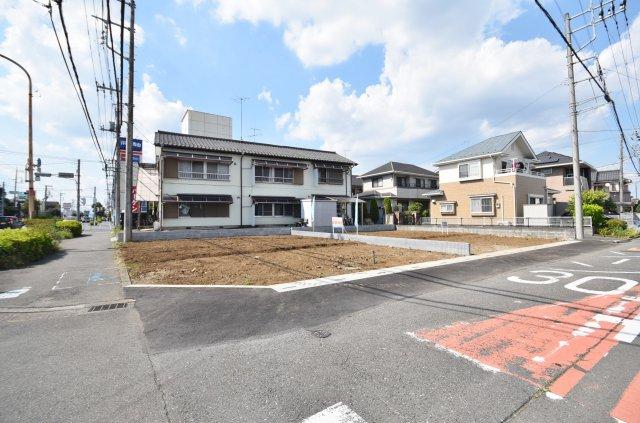 綺麗な進展するメインエリア 区画整理地内に角地で整形地 ブリエガーデン扇台2丁目 全2区画 1号棟