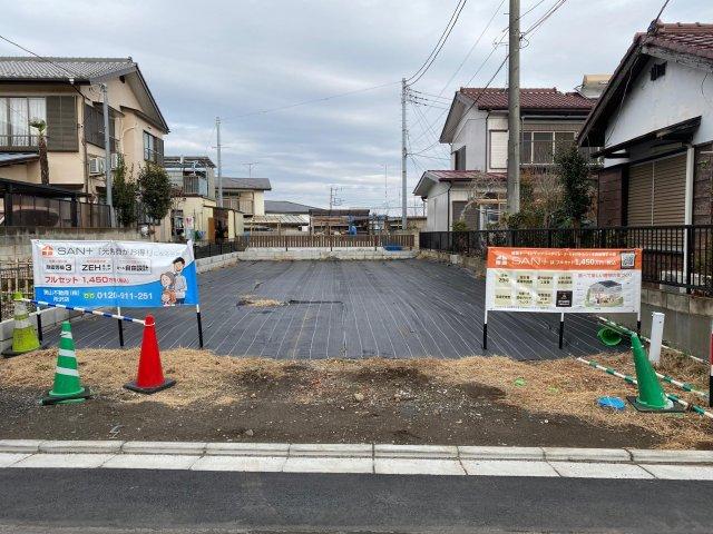 SAN+で建てる分譲地 「西所沢」駅徒歩9分 上新井1丁目第4期
