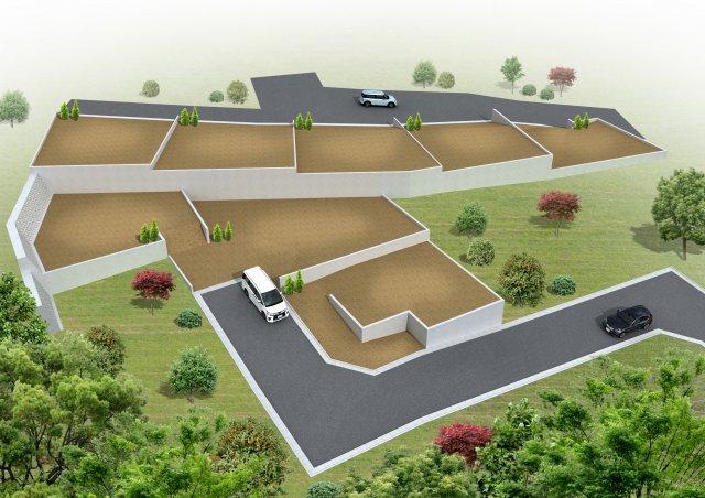 武蔵藤沢駅エリア全8区画 約7m道路幅道路の回遊性と視界がある14区画 ブリエヒルズ下藤沢第13-2期